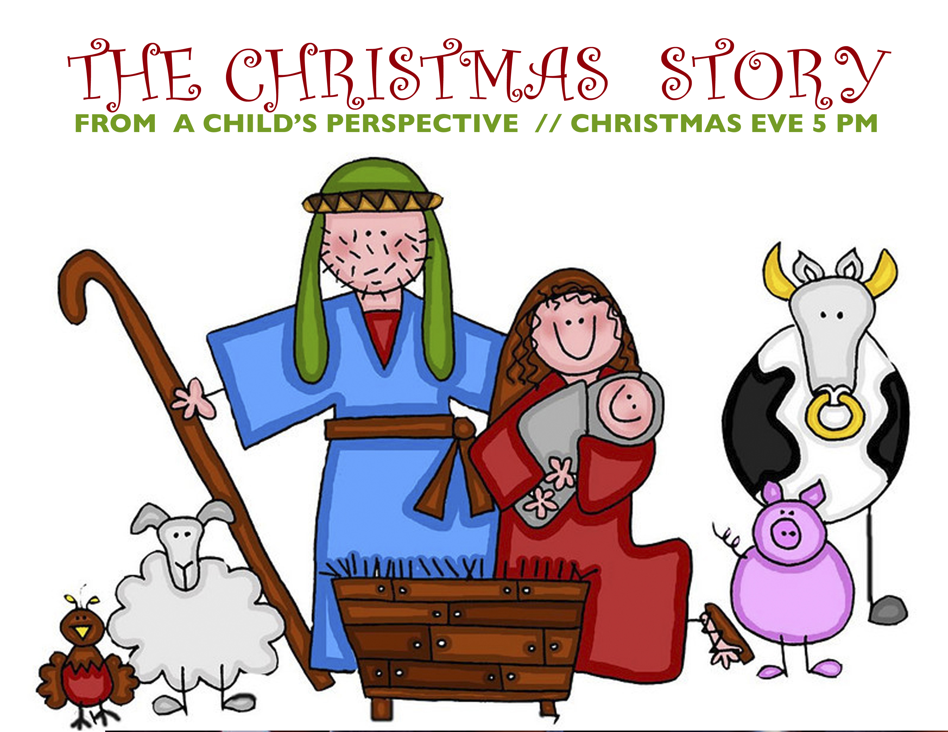 Christmas Eve 5 pm - Bethel Kids tell the Christmas Story - Bethel ...